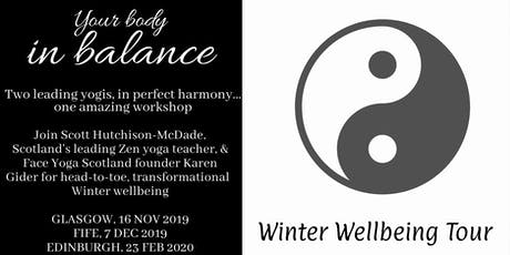 Your Body in Balance Winter Wellbeing Tour tickets