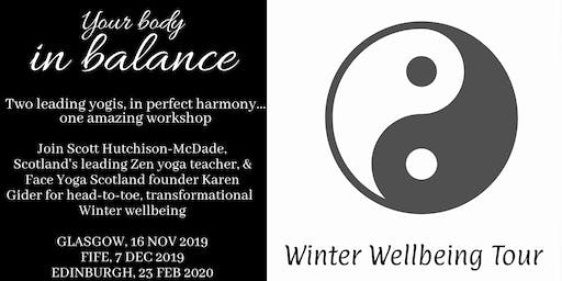 Your Body in Balance Winter Wellbeing Tour