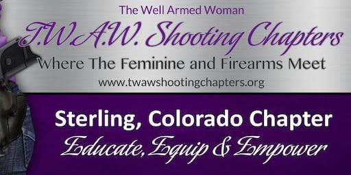 TWAW STERLING CHAPTER MEETING November 16, 2019