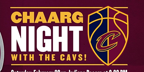 CHAARG Night with the Cavs tickets