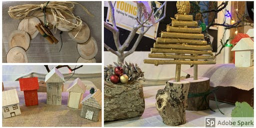Festive Creations with Wood & Textiles.