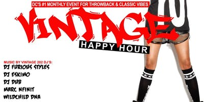 VINTAGE 4TH FRIDAYS HAPPY HOUR @ THE BRIXTON