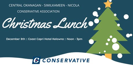 Christmas Luncheon featuring Tom Kmiec MP Calgary Shepard tickets
