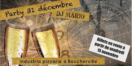 Party du reveillon du 31 décembre avec DJ MARIO