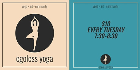 Egoless Yoga tickets