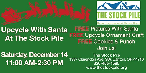 Upcycle With Santa At The Stock Pile