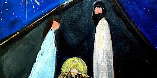 Reason for the Season Nativity Paint Party
