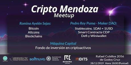 Cripto Mendoza Meetup tickets