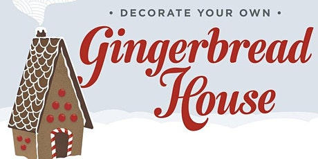Chapel Hill Gingerbread House Decorating Party! tickets