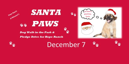 Santa Paws Dog Walk in the Park