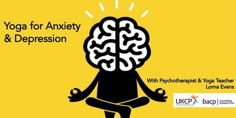 Yoga for Anxiety & Depression 4 week course tickets