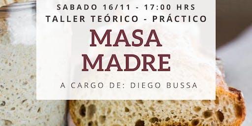 Taller de Masa Madre con Diego Bussa