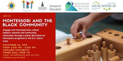 Montessori and the Black Community
