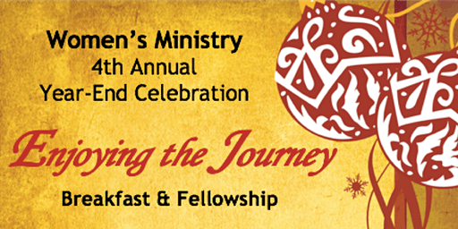 Women's Ministry  Year-End Celebration
