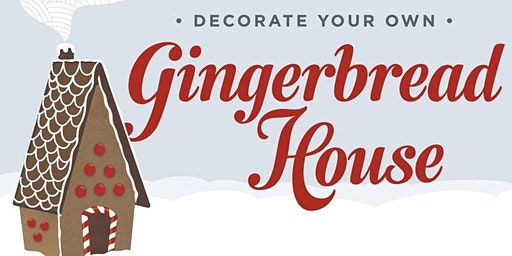 Pittsboro Gingerbread House Decorating Party!