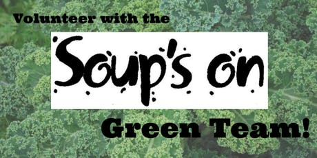 2020 Soup's On Green Team tickets