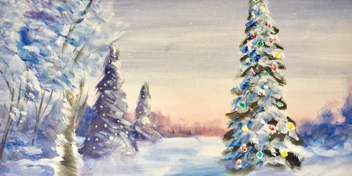 Special Event- Christmas Nights Family Paint and Santa Meet and Greet