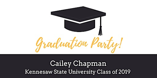 Cailey's Graduation Party!