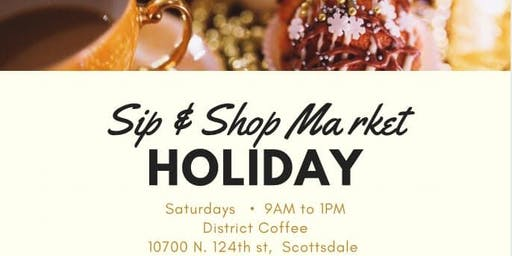 Sip and Shop Holiday Market
