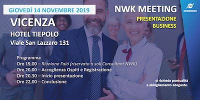 MEETING PRESENTAZIONE BUSINESS - NEWORKOM COMMUNITY -  VICENZA