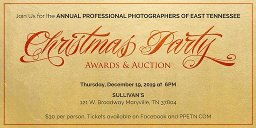 2019 PPETN Christmas Party, Awards & Auction