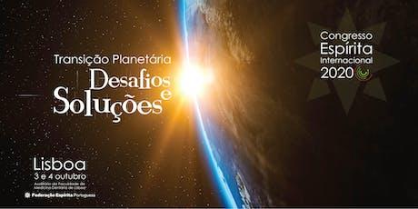 Congresso Espirita Internacional 2020 bilhetes