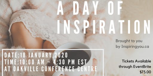 A  Day of Inspiration for YOU!