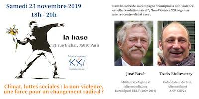 La non-violence, une force pour un changement radical?