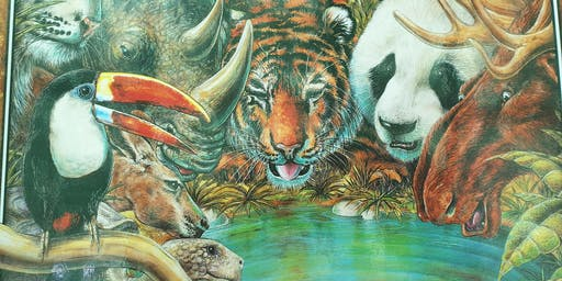 Books ALIVE: ANIMAL Planet- The Waterhole