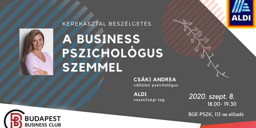 A business pszichológus szemmel