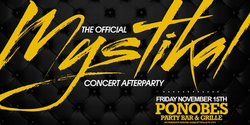The Official Mystikal Concert Afterparty