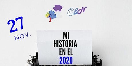 MI HISTORIA EN EL 2020 entradas