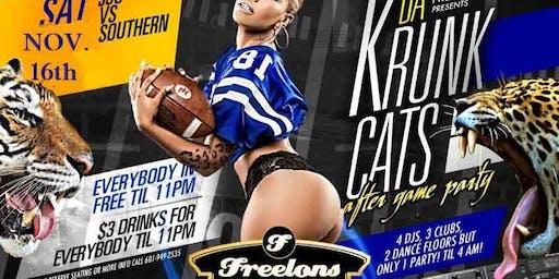 JSU VS Southern DA Krunk Cats After Game Party