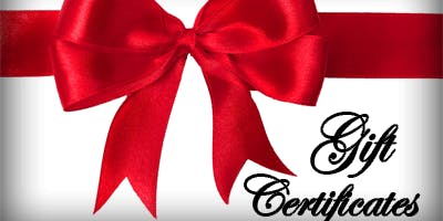 Gift Certificates - American Red Cross Emergency First Aid/CPR/AED