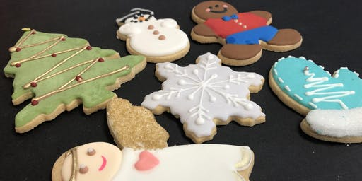 Cookie Decorating - Christmas Theme