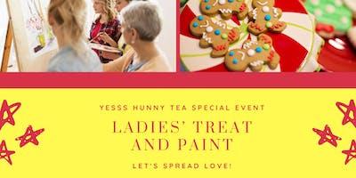 Ladies' Treat and Paint