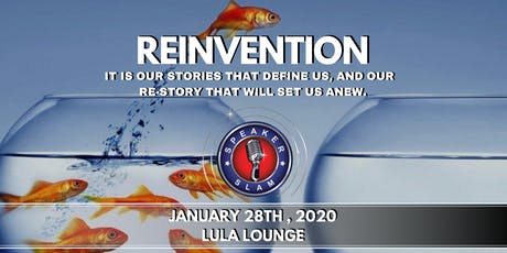 Speaker Slam:  Reinvention tickets