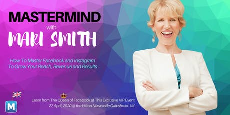 Mastermind with the Queen of Facebook, Mari Smith, in England! tickets