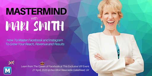 Mastermind with the Queen of Facebook, Mari Smith, in England!