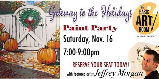 Gateway to the Holidays Paint Nite