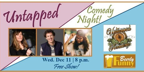 Untapped Comedy Night - A Beerly Funny Show tickets