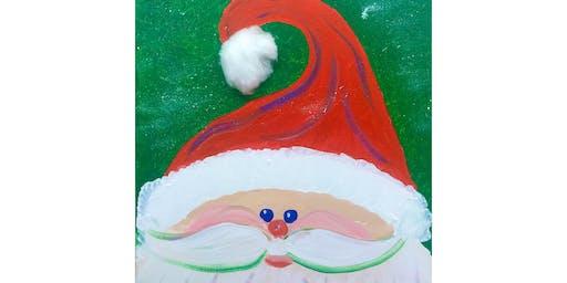 "Open Paint (8yrs+)""Santa Puff Claus"""