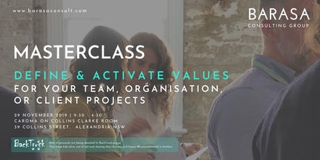 Masterclass: Learn how to define and activate shared values tickets