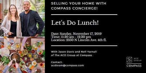 Selling Your Home With Compass Concierge | Discussion (Free Lunch!)