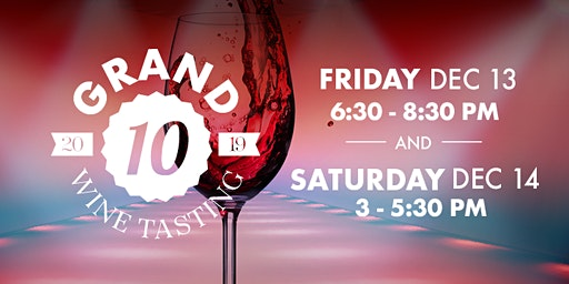 Free Grand Wine Tasting Day 1 | Andover