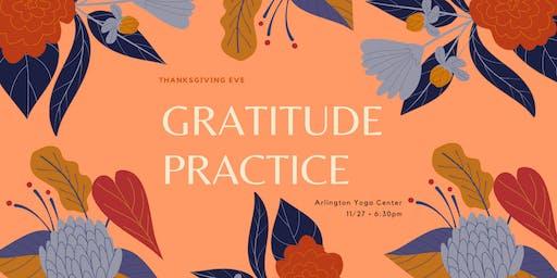 Gratitude Meditation + Yoga