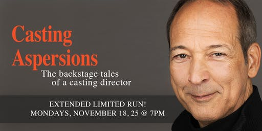 Casting Aspersions: The backstage tales of a casting director