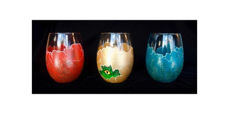 """Adult Open Paint (18yrs+) """"Dragon Egg Glasses"""" tickets"""