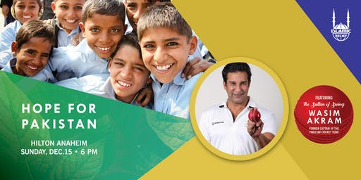 Hope for Pakistan - Anaheim