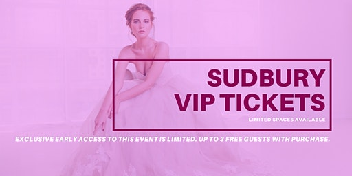 Opportunity Bridal VIP Early Access Sudbury Pop Up Wedding Dress Sale